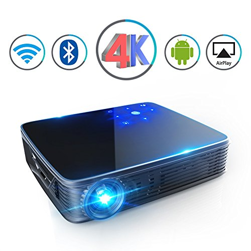 Top 10 recommendation led projector android 4k for 2018