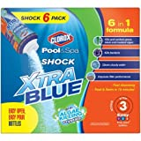 Clorox Pool&Spa Shock VMVNFw Xtra Blue, 6-Pound 33006CLX, 3 Pack
