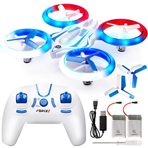 UFO Mini Drones for Kids – UFO 4000 LED Mini Drone for Kids or Beginners, Small Micro Indoor RC Drone Quadcopter Toy Gifts for Teen Boys or Girls