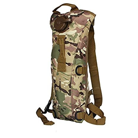 bb44ab671cf8 Amazon.com: Glumes Military Tactical Hiking Backpack 45L Water ...