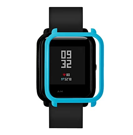 MYQyiyi Protector de Pantalla del Reloj Inteligente para Xiaomi Huami Amazfit Bip Youth Watch (Azul
