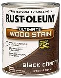 Rust-Oleum 260152 Ultimate Wood Stain, Quart, Black Cherry by Rust-Oleum