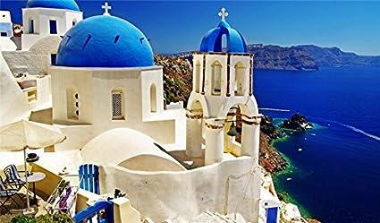 Amazon Com Oia Greece Island Thira Santorini Cyclades Sea