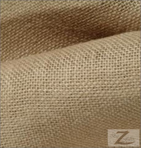 - NATURAL BURLAP FABRIC- 6.50/YARD - SOLD BTY 60