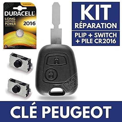 Carcasa Jongo caja de mando llave Peugeot 406 206 SW CC HD ...