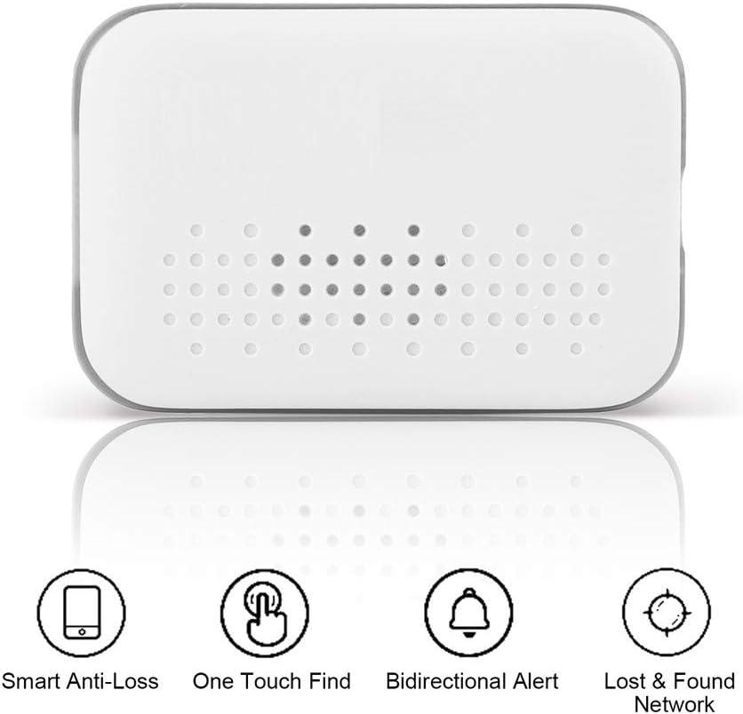 SHELLTB Rastreador de GPS Mini Smart Tracker Bluetooth GPS Inteligente Finder Anti-pérdida de la Alarma de recordatorio perdido Etiqueta iTag Clave Child Finder localizador GPS