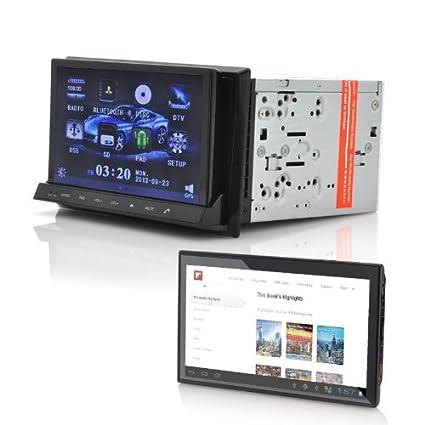 "Coche reproductor de DVD ""cvitt 2din – Tablet Android de 7, GPS,"