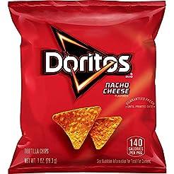 Doritos Nacho Cheese Flavored Tortilla C...