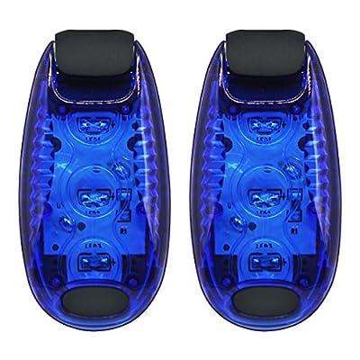 Kootek LED Safety Light Running Lights Reflective Gear Bike Reflector Steady Strobe Lights Warning High Visibility for Runners Kids Dog Biking Walking