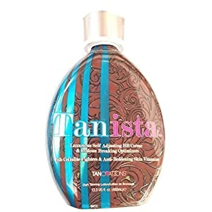 Ed Hardy Tanista Indoor Tanning Bed Lotion Bronzer w/ Tattoo Protection 13.5 Oz
