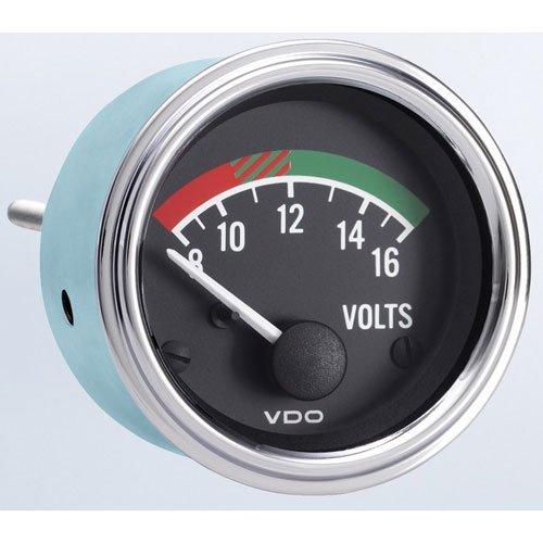 VDO 332 342 Voltmeter Gauge