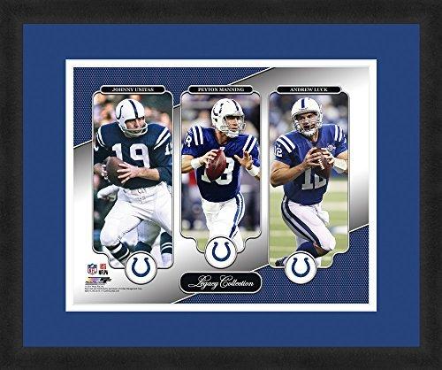 【超安い】 NFL Unitas,Peyton Sports Indianapolis Colts Johnny Unitas,Peyton Manning,& Andrew Luck,Beautifully Luck,Beautifully Framed and Double Matted,18 x 22 Sports Photograph [並行輸入品] B07H97K63X, Nailstore Belce:a7614155 --- arianechie.dominiotemporario.com