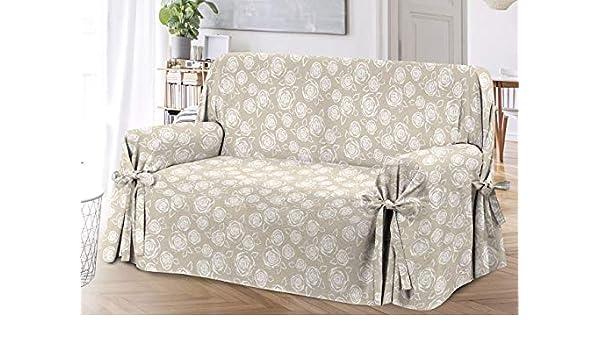 Funda de sofá con Lazos, diseño de Rosas, Modelo O.B. ...