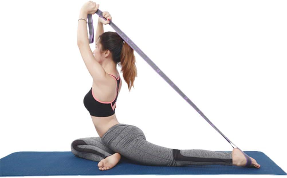 Unisex Latin Dance Elastic Stretch Belt Pull Strap Exercise Training Workout Exercise Belt for Child Adults Moggem Yoga Fitness Resistance Band