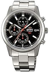ORIENT chronograph quartz Mens Watch SKU00002B Black