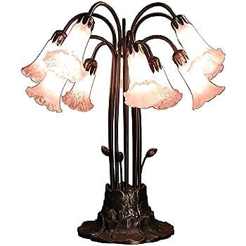 Meyda Tiffany 14357 Pond Lily 10 Light Table Lamp 22