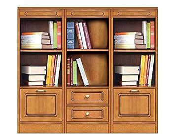 Wohnwand Bücherregal Niedrig Klein, Möbel Modular Aus Holz Für Haus Büro,  Wohnwand Klassisch Modern