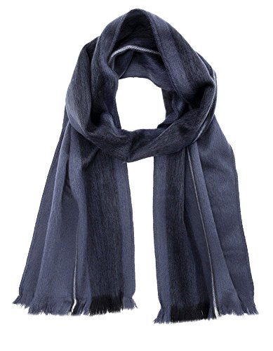 (Luxuriously Soft Alpaca Winter Scarves (Cobalt and Royal Blue))