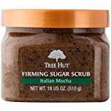 Tree Hut Italian Mocha Firming Sugar Scrub, 18 Oz