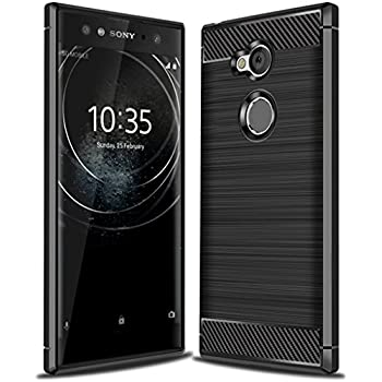 Amazon.com: Sony Xperia XA2 Ultra Case, TUDIA Slim-Fit Heavy ...