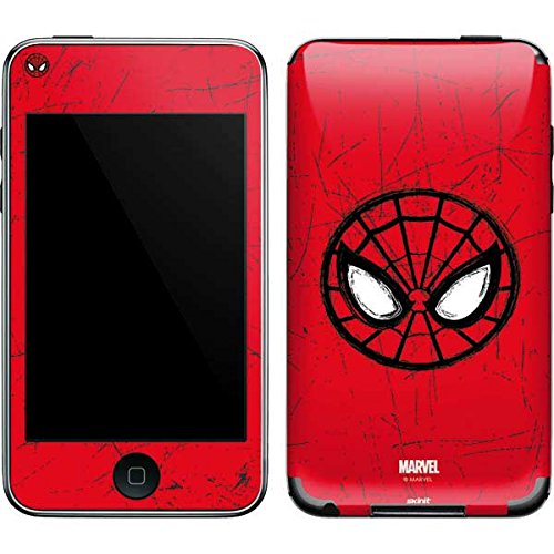 Marvel Spider-Man iPod Touch (2nd & 3rd Gen) Skin - Spider-Man Face Vinyl Decal Skin For Your iPod Touch (2nd & 3rd Gen) ()