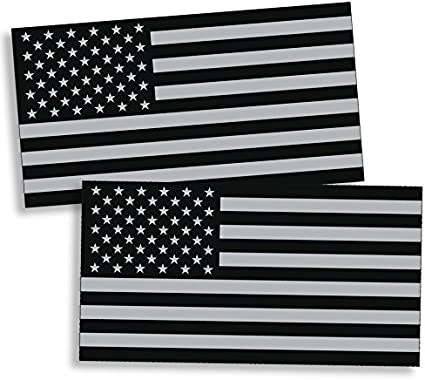 USA American Flag Military Star Vinyl Decal Car Truck Window Sticker Military
