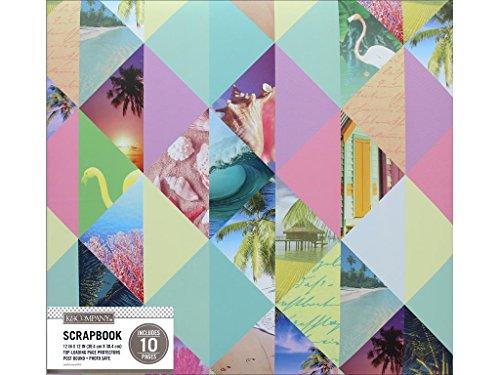 6 K&Co Scrapbook 12x12 Photo Collage Pastel Scrapbook 12x12 Pastelphotocol ()