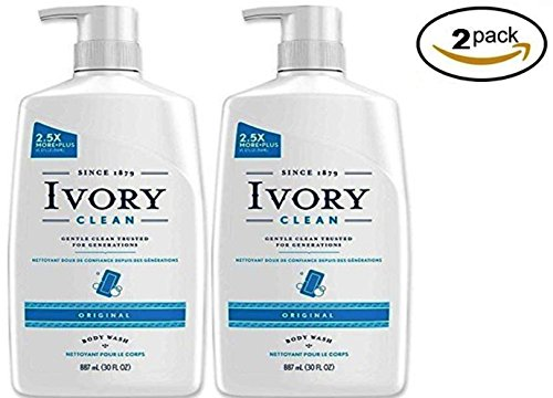 Ivory Clean Body Wash Pump Original, 30 Fl. Oz.
