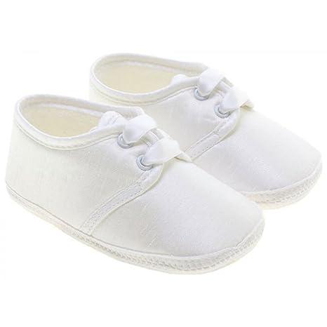 Little Cutie, Chaussures souple souple Chaussures pour bébé garçon Blanc blanc 0 3 dba1d0