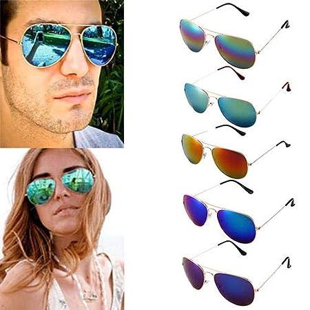 Man9Han1Qxi Gli Occhiali da Sole polarizzati degli Uomini delle Donne di Modo Che guidano Gli Occhiali da Sole all'aperto di Sport degli Occhiali da Sole Anti UV Blu