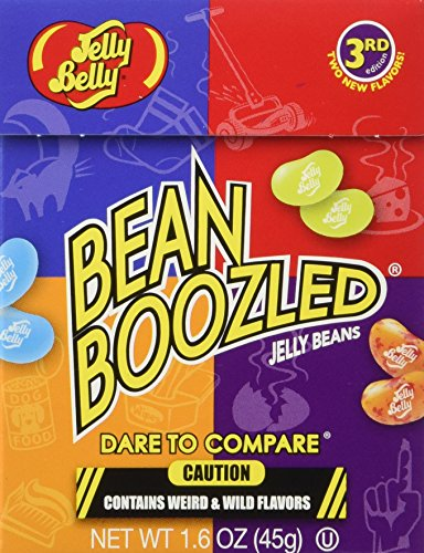 Jelly Belly Bean Boozled 3rd Edition New Flavors Stinky Socks Beans, 1.6 Ounce]()