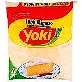 Yoki - Fine Cornmeal - Fine Maize Flour - 17.64 Oz (PACK OF 2) | Fubá Mimoso - Farinha de Milho fina - 500g