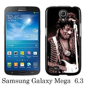 jimi hendrix 3 Black Samsung Galaxy Mega 6.3 i9200 i9205 Screen Phone Case Unique and Fashion Design