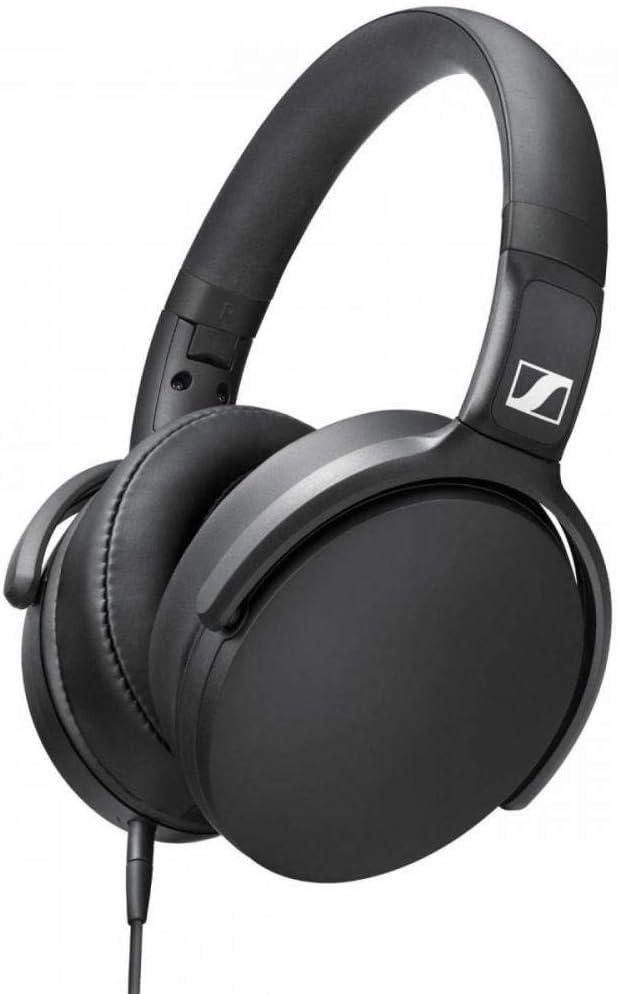Sennheiser HD 400S - Auriculares circumaurales con Control Remoto Inteligente Universal, Color Negro
