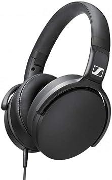 Oferta amazon: Sennheiser HD 400S - Auriculares circumaurales con Control Remoto Inteligente Universal, Color Negro
