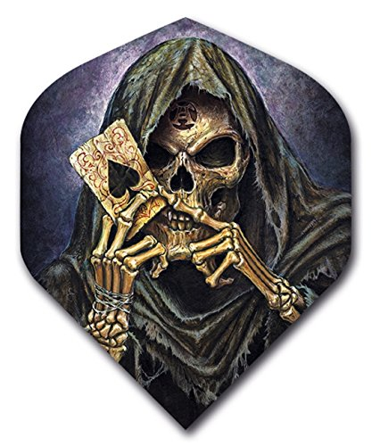 1 set (3 flights) Alchemy GRIM REAPER Standard Dart Flights