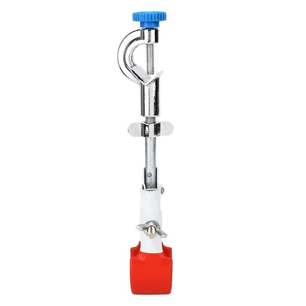 Laboratorio ajustable Tubo de ensayo Frasco condensador abrazadera Variable Direcci/ón de prueba universal del tubo del condensador Frasco de la abrazadera Lab Clamp