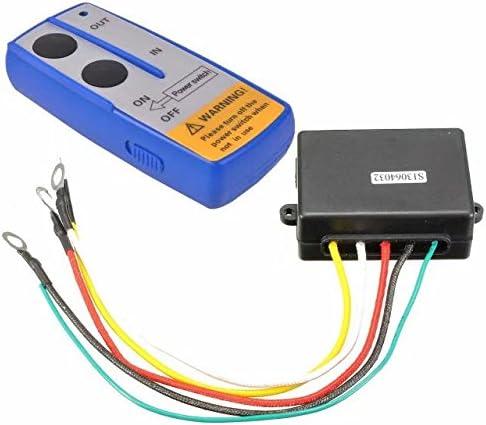 12V Wireless Winde Recovery Fernbedienung 2 Handschalter für JEEP ATV SUV Neu DE