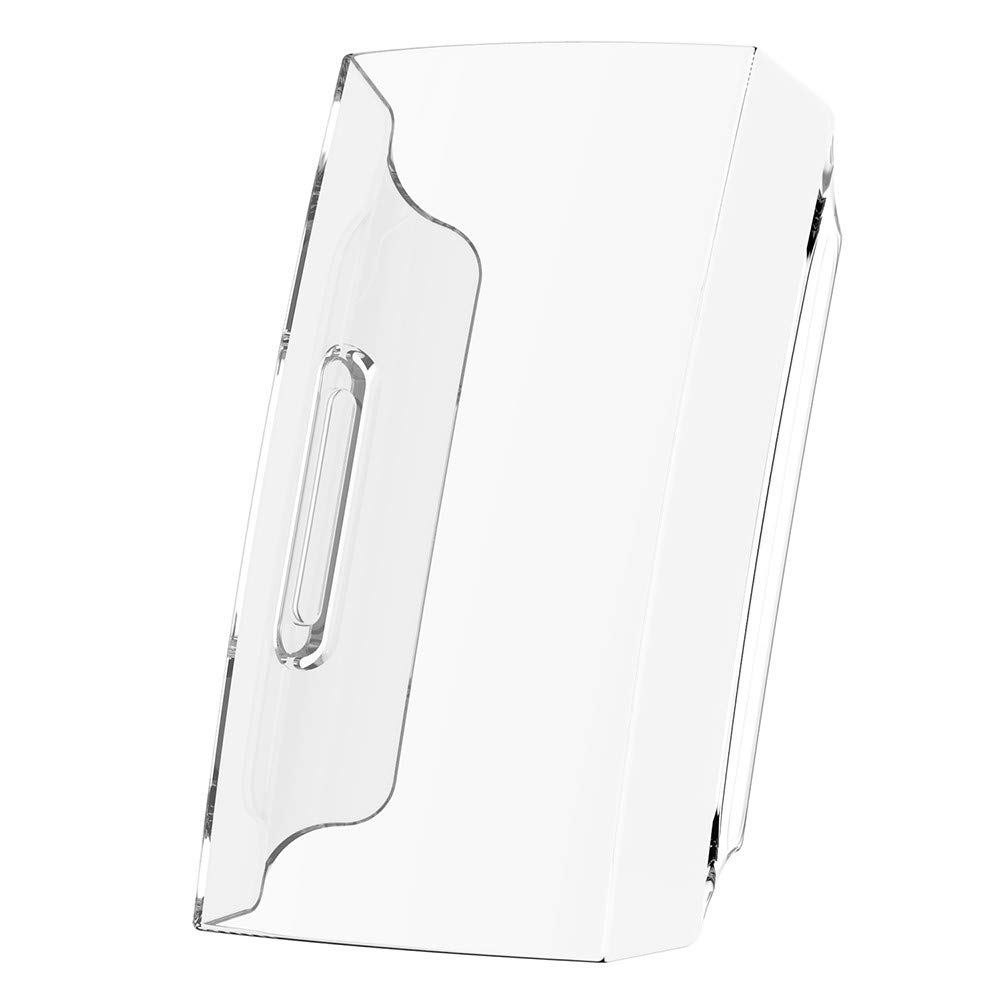 Case for Fitbit Charge 3, Polwer Protection Ultra-Slim Clear PC Resin Cover (Clear)