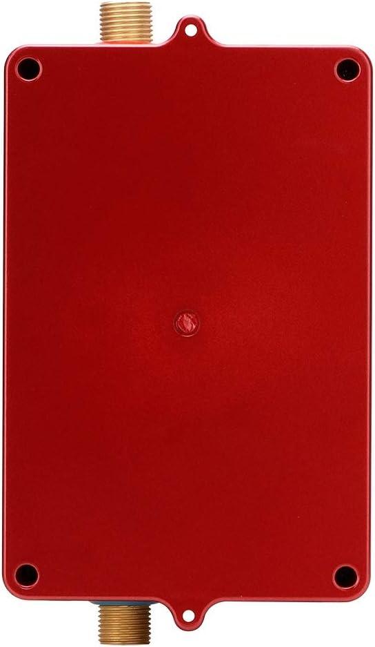 Sorand Durchlauferhitzer Haushalt 28-55 ℃ Verstellbarer Mini-Durchlauferhitzer Durchlauferhitzer ohne Tank Intelligente Durchlauferhitzer-Heizungsmaschine mit Temperaturanzeige Gold