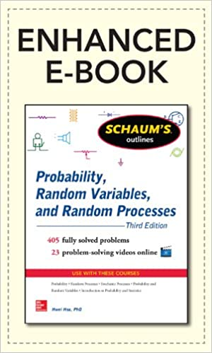 Schaums outline of probability random variables and random schaums outline of probability random variables and random processes 3e enhanced ebook schaums outline series 3rd edition kindle edition with fandeluxe Image collections