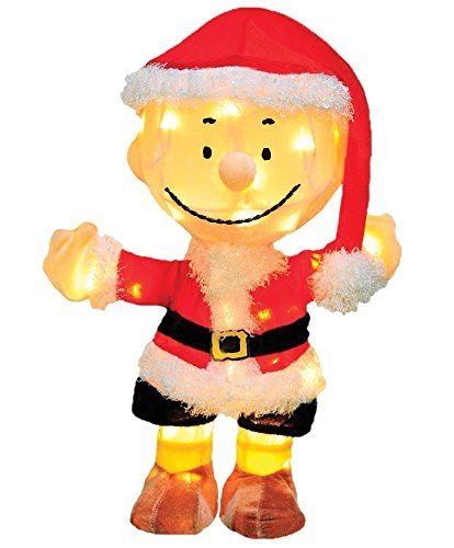 20 Inch Charlie Brown Santa
