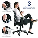 Modway EEI-757-BLK Articulate Ergonomic Mesh Office
