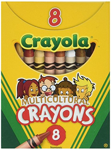 Multicultural Crayons Reg -