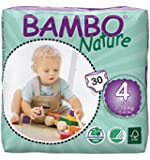 Bambo Nature - 4 Maxi, (180 Count) - (Sold by Case)