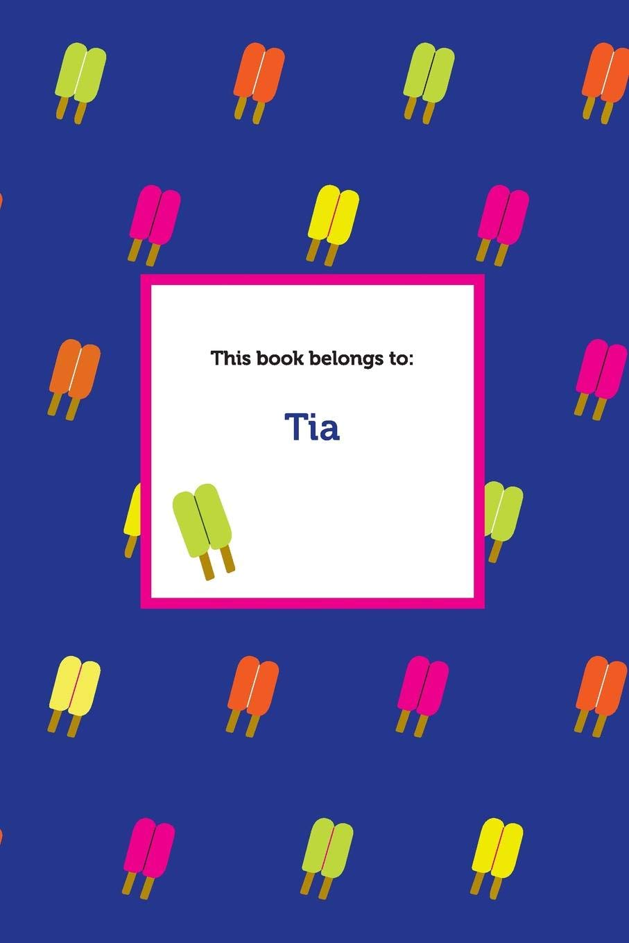 Etchbooks Tia, Popsicle, College Rule PDF
