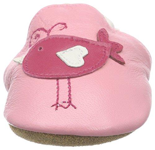 Freefisher Lauflernschuhe, Krabbelschuhe, Babyschuhe - in vielen Designs Rot,12-18 Monate Vogel