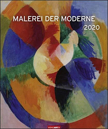 Malerei der Moderne Edition. Wandkalender 2020. Monatskalendarium. Spiralbindung. Format 46 x 55 cm