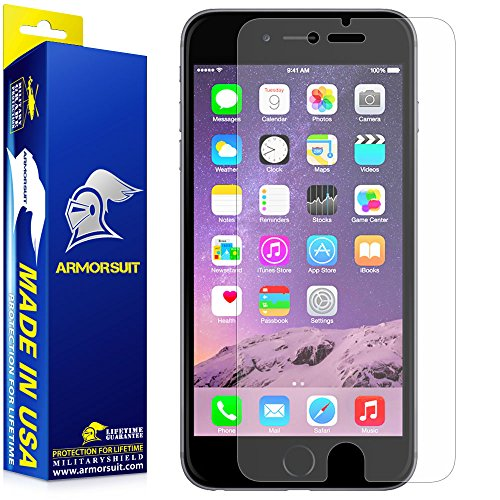 ArmorSuit MilitaryShield Apple iPhone 6 / 6s Plus Matte Screen Protector - Anti-Glare, Anti-Fingerprint, Anti-Bubble Shield w/ Lifetime Replacements