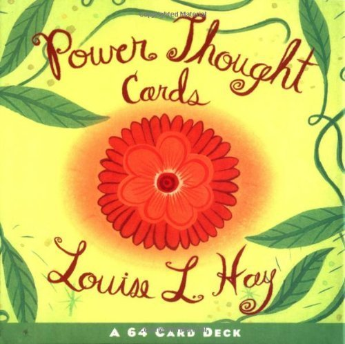 - By Louise Hay - Power Thought Cards (Beautiful Card Deck) (Crds) (3/16/04)